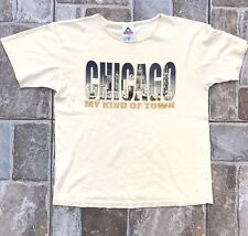 Vintage 80's Chicago My Kind Of Town Souvenir Womens T-Shirt