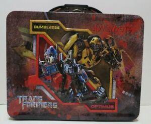 Transformers Tin Lunch Box Optimus Prime & Bumblebee
