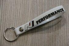 Schlüsselanhänger Hyundai I30N N Performance - weiß - Glow-In-The-Dark - B-Ware