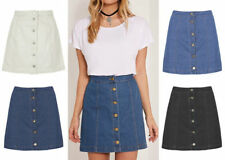 Unbranded Denim Short/Mini Casual Skirts for Women