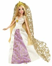 Disney Princess Tangled Bride Rapunzel Doll on her Wediing Day to Flynn Rider