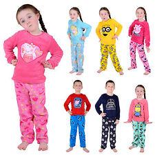 Disney Fleece Pyjama Sets Nightwear (2-16 Years) for Girls