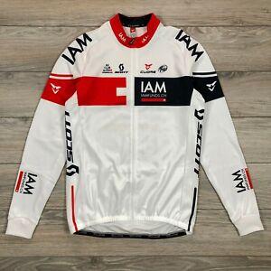 IAM Cycling Cuore Thermal Long Sleeve Jacket Scott Full Zip Men's size XL