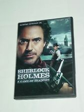 Sherlock Holmes: A Game of Shadows (DVD, 2012) Robert Downey Jr. Jude Law