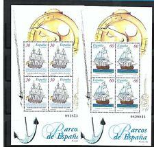 STAMPS SPAIN 1996 18TH CENTURY SHIPS MNH 3415 3416 SELLOS ESPAÑA