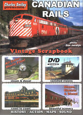 Canadian Rails CN CP QRL&P Charles Smiley DVD