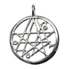 "Necronomicon Sigil of the Gateway Simon Magic Occult Cthulhu 1"" Necklace Pendant"