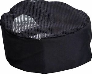EPIC Black Mesh Top Chef Hat (One Size)