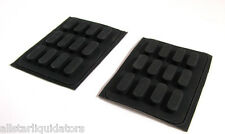 24 Dell Rubber Feet for Laptop Notebook Bottom Base 3M U7953 Cabinet Door B