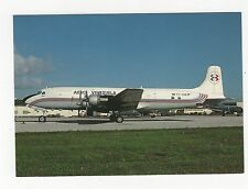 Aero Venezuela Douglas DC-6B Aviation Postcard, A649