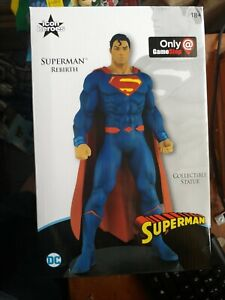 Superman Rebirth Icon Heroes Gamestop Exclusive Statue dc comics super hero