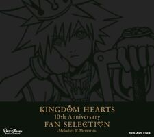 Kingdom Hearts 10Th Anniversary Fan Selection Melodies & Memories (2CDS)