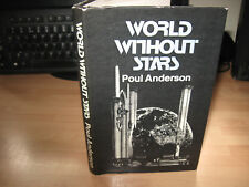 Poul Anderson - World Without Stars 1975 UK 1st Dobson HB/DJ rare space opera