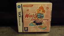 NINTENDO - Jeu DS: WINX CLUB Secret diary 2009 - complet