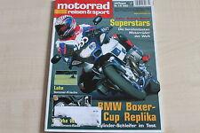 164699) KTM 950 Adventure im TEST - Motorrad Reisen Sport 07/2003