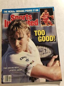 1989 Sports Illustrated STEFFI GRAF No Label GRAND SLAM Invincible TOO GOOD