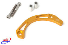 SUZUKI LTZ 400 2003-2014 CNC ALUMINIUM CASE SAVER YELLOW