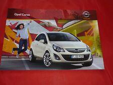 OPEL Corsa D Selection Color Edition Navi Innovation OPC Prospekt Brochure 2011