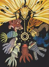 Naruto Art Poster - The Child of Prophecy (Promise) - NEW - 11x17 13x19