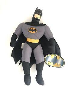 Warner Brothers Batman Plush Figure Play By Play 1997 Vintage Stuffed Toy