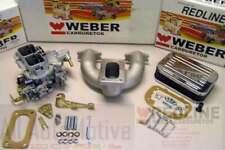 MG Midget Austin Healey Sprite 1958-1974 Weber Conversion Kit w/Manifold Genuine