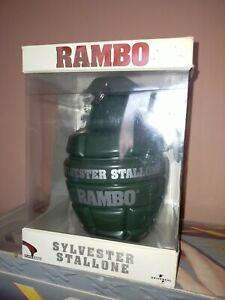 "Coffret collector Rambo L'intégrale - Edition Limitée ""Grenade"""