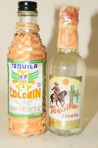 TEQUILA Colorin-ZAPATA 2 x  SET 40% mini flaschen bottle miniaturen bottela