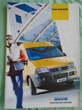 Fiat Ducato range brochure Mar 2002