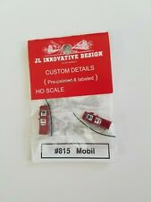 JL Innovative Designs, HO Scale, Custom Gas Pumps, Mobil, #815