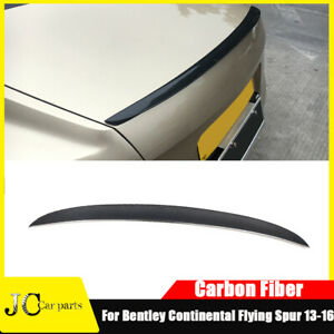 For Bentley Continental Flying Spur 13-16 Rear Trunk Spoiler Tail Spoier Wing