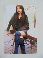 Suzy Bae Miss A 4x6 Photo Korean Actress KPOP auto signed USA Seller SALE Y1
