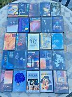 Job Lot 25 Rock Album Cassette Tape Bundle Doors 10cc joe cocker wishbone ash