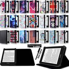 Soporte para Folio Cuero Funda Cubierta para Amazon Kindle 4/5/7/8/9 Paperwhite 1/2/3/4