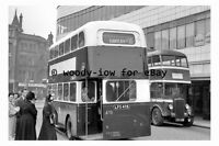 pt9866 - Doncaster Bus LFS 478 at Duke Street 1954 , Yorkshire - photograph 6x4