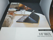 "Case Logic Surefit Classic Folio for 9-10"" Tablet - Black"