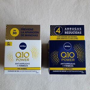 Nivea Q10 Power Anti-Wrinkle Firming Day SPF 30 + Night Cream ** FREE SHIPPING**