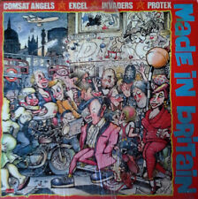 POLYDOR LP - MADE IN BRITAIN - INVADERS, PROTEX, EXCEL, COMSAT ANGELS