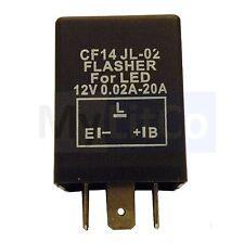 Fix Flash Rate Turn Signal [Flasher Relay LED indicator bulbs] 3 PIN CF14 JL-02