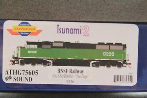 Athearn Genesis HO SD60M Tri-Clops BNSF Railway ATHG75605 With Sound Last one