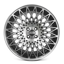 4 X BBS Alloy Wheels Rim Sports Mags 17X7.5 4X100 ET35 FLAT BLACK MACHINE FACE