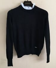 MIU MIU by Prada Black/White Super Soft Jumper Sweater IT40 UK 8/10