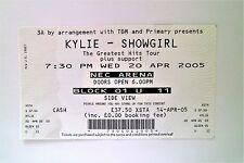 KYLIE MINOGUE TICKETS MEMORABILIA - Ticket Stub(s) Birmingham NEC Arena 20/04/05