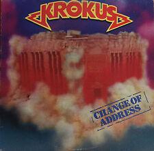 KROKUS Change Of Address LP with Inner sleeve. 1986
