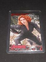 Avengers Age of Ultron Trading Card Black Widow/Scarlett Johansson  #9