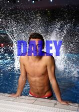 TOM DALEY #94,BARECHESTED,SHIRTLESS,candid photo