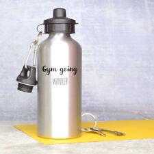 Funny gym water bottle - gym going wanker water bottle