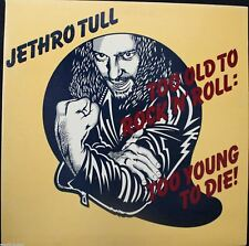 Jethro Tull Too Old To Rock N' Roll: Too Young To Die Vinyl LP Record Album