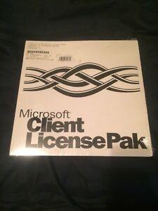 Spanish Microsoft Client License Pak