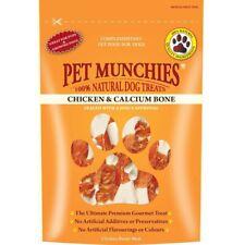 Pet Munchies 100% Natural Chicken & Calcium Bone Healthy Dog Food Treats 8x100g