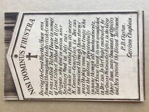 Rev 'Tubby' Clayton's Toc H WW1 soldiers rest house Poperinge Belgium postcard